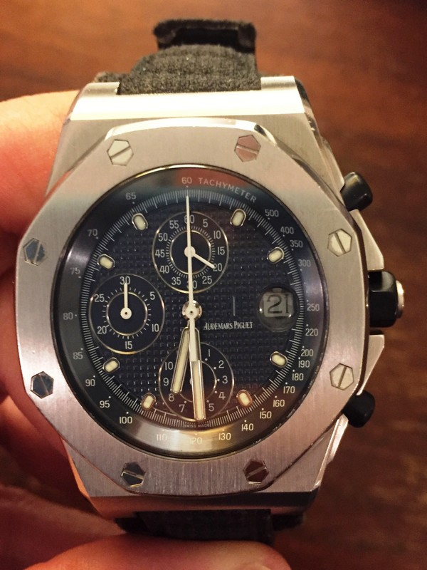 228f4454011 Audemars Piguet Royal Oak Offshore Chrono Ref. 25770STSOLD – Lucas ...